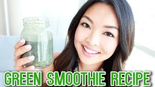 Healthy Green Smoothie Recipe (Fat Burn & Weight Loss)