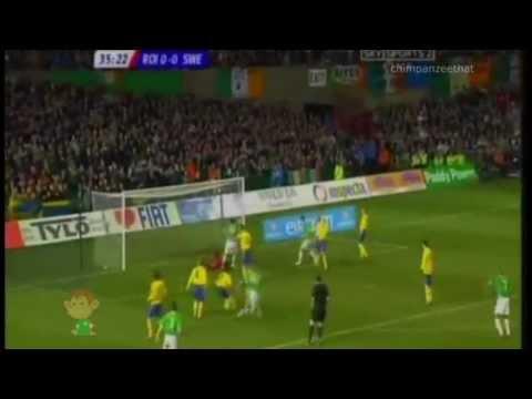 Ireland 3 - 0 Sweden ::: Friendly ::: 2006