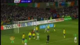 Ireland 3 - 0 Sweden ::: Friendly ::: 2006