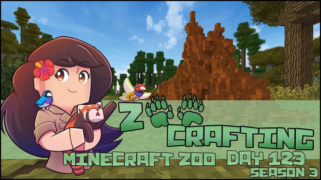 Giant Savannah Termite Mounds!! 🐘 Zoo Crafting: Episode #123 🐘 Season 3
