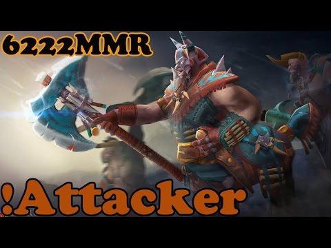 Dota 2 - !Attacker 6222MMR Plays Centaur Warrunner Vol 1# - Ranked Match Gameplay