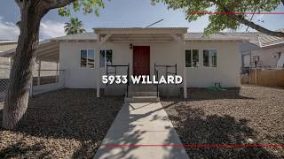 5933 Willard Fix and Flip