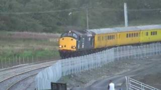 Drs Class 37s On Airdrie To Bathgate Rail Line
