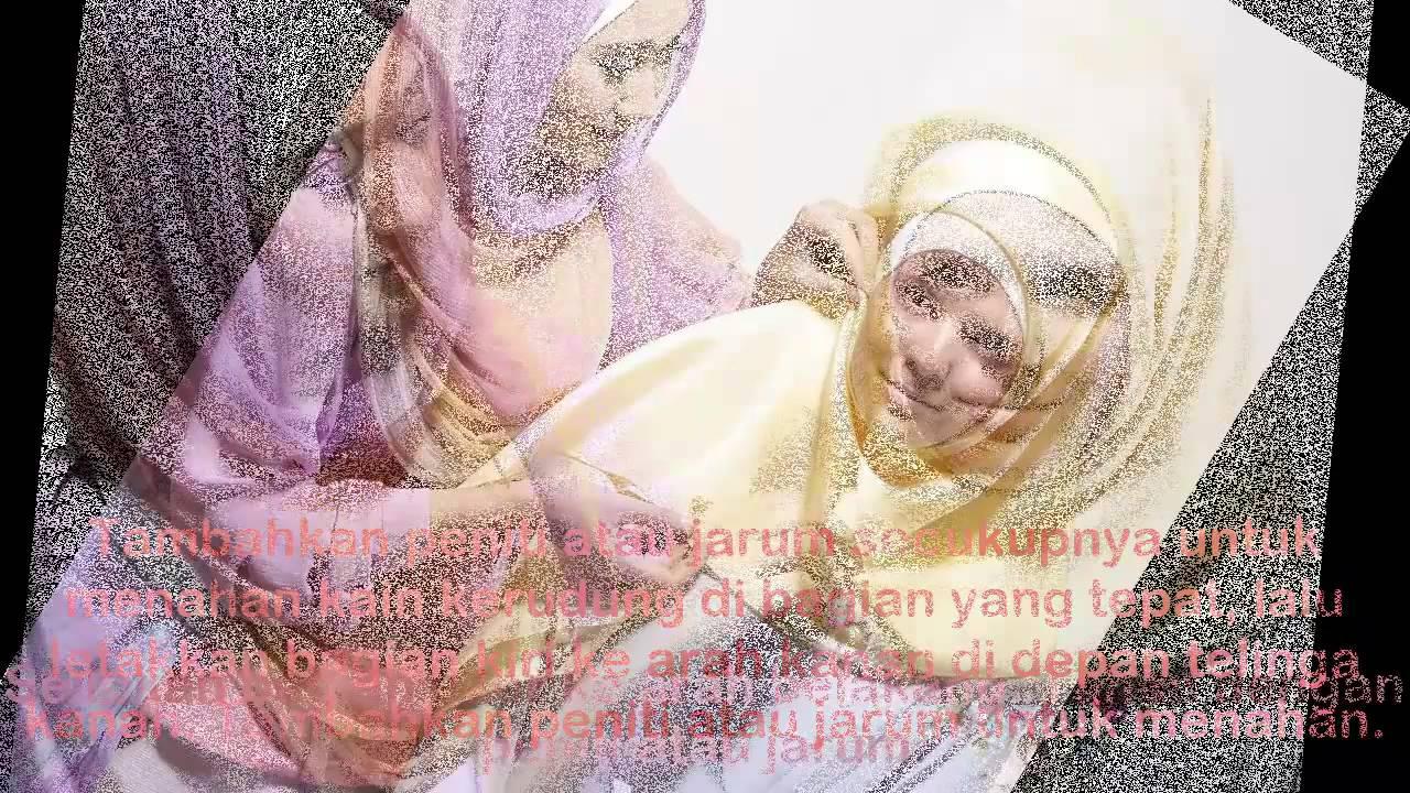 BEST Tutorial Hijab Pashmina Segi Empat Terbaru 2014 HD Ala