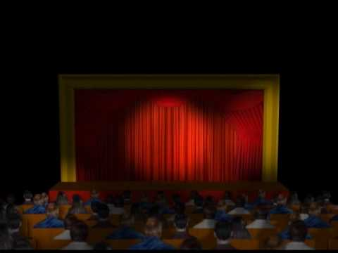 "Title animation for ""The Theatre Factory"""