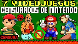 7 Videojuegos CENSURADOS de Nintendo - Parte 2