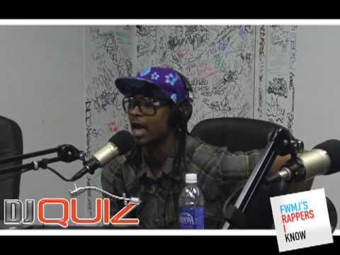 DJ Quiz Danny Brown Freestyle on The B-Side ALISTRADIO.NET