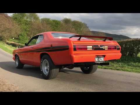 High Revving 1972 Plymouth Duster 360 In Action | HOT CARS