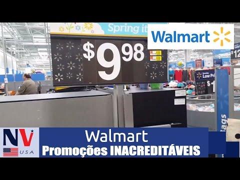 Promoções INACREDITÁVEIS no Walmart Estados Unidos