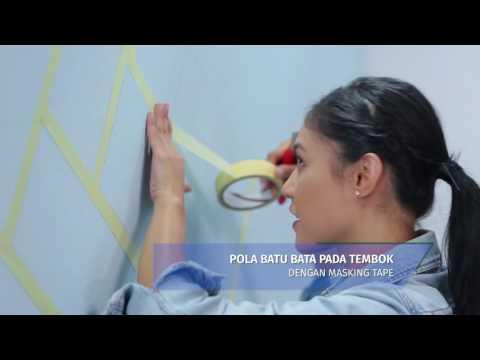 Avian Brands DIY Series #13 - Tembok Bata Abstrak