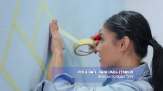 Avian Brands DIY Series #13 - Tembok Bata Abstrak