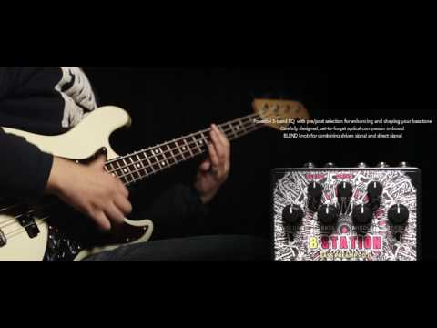 "[B Station] Bass Preamp/D.I. - Hotone ""Performer"" Series Demo"