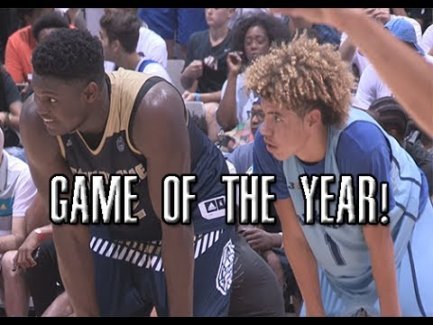 Thumbnail: Zion Williamson VS LaMelo Ball!!! LIVEST Game Of The Year Full Highlights!