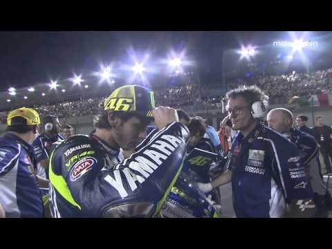 How Rossi prepared for an historic battle...