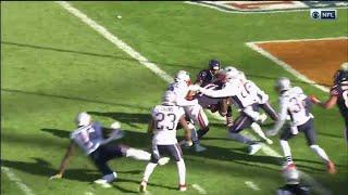 Chicago Bears Hail Mary falls One Yard Short vs New England Patriots (2018)