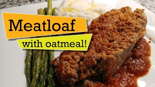 MEATLOAF Recipe with Oatmeal   How to Make an Easy Gluten-Free Meat Loaf & Best Glaze