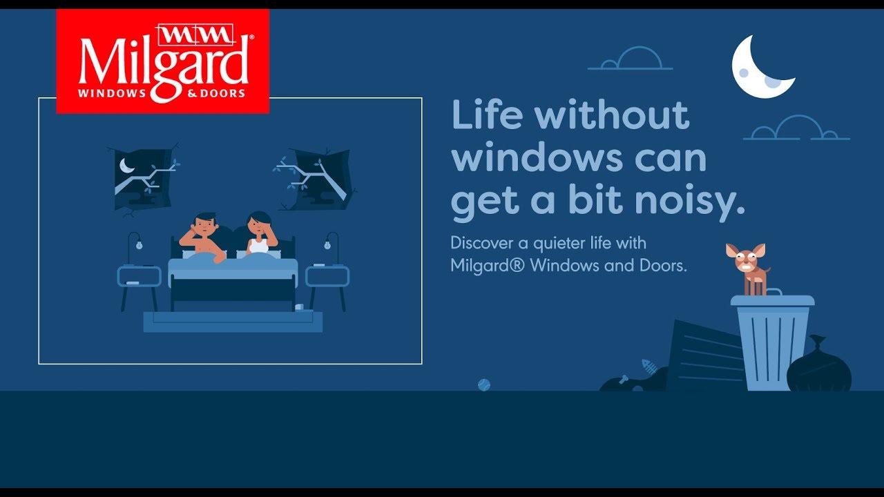 Life without windows noisy milgard windows and doors for Buy milgard windows online
