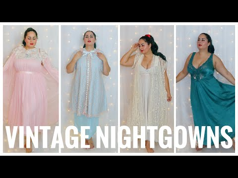 Let's Talk About Vintage Nightgowns...and Why I Love Them