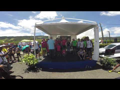 Relais du Volcan 2016, le podium Mixte