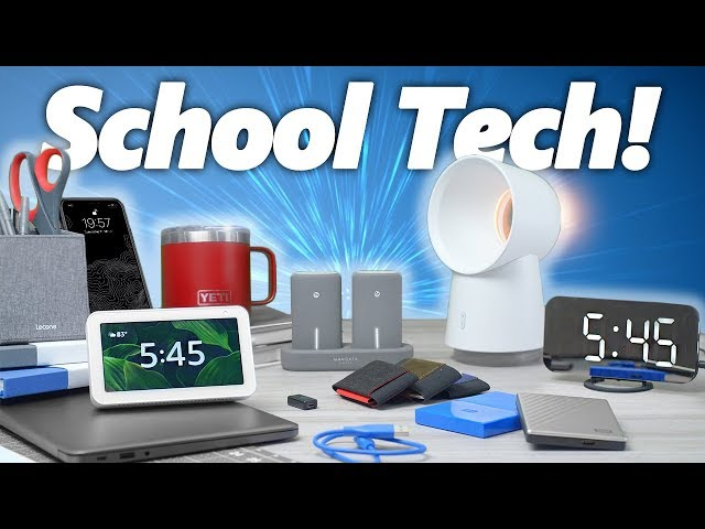 10 Cool Back to School Tech! (Under $100)