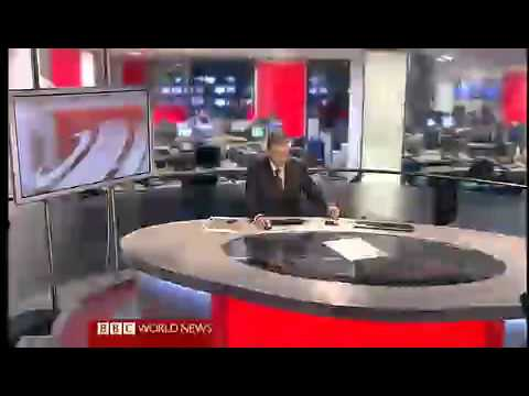 BBC World News with Peter Dobbie(Studio N9)