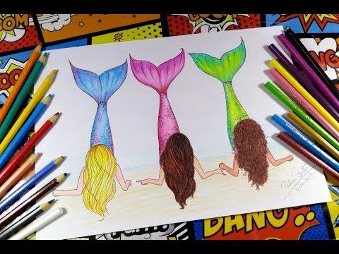 How To Draw Mermaids Teenagers