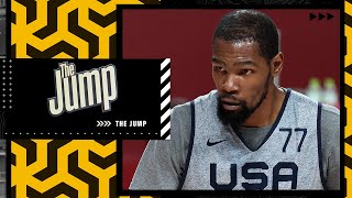 'USA Basketball WILL make a statement against France' - Kendrick Perkins