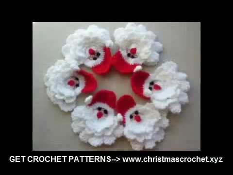 Crochet Christmas Decorations Youtube