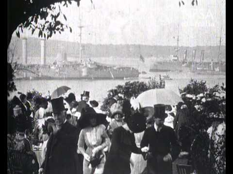 Garden Party at Government House, Sydney - 12 April 1912