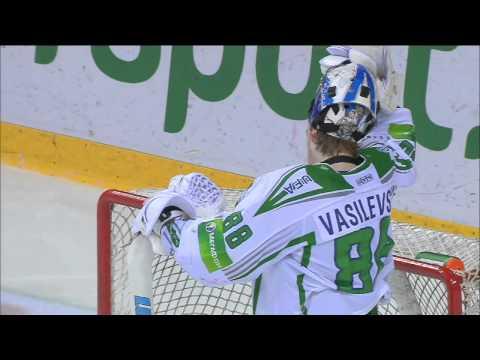 Суперсэйв Андрея Василевского! / Vasilevsky gloves Antipin's shot already lying on the ice