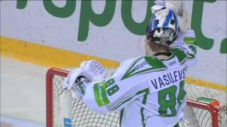 Суперсэйв Андрея Василевского! / Vasilevsky gloves Antipin
