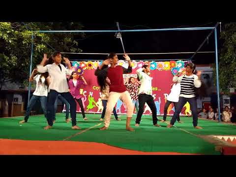 Remix Dance On Childrens Day 2017 By Harika & Group Of