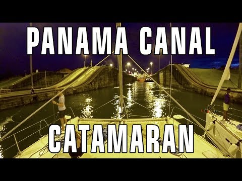Panama Canal by Sailboat - Crewing on Curiosity - Gone With The Wynns