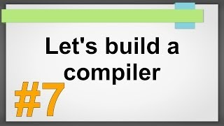 Let's build a compiler #7 println, Leerzeichen - Compilerbau ANTLR Tutorial deutsch HD