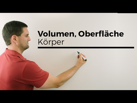 Kegel, Zylinder, Kugel, Volumen, Oberfläche, Netz, Körper | Mathe by Daniel Jung from YouTube · Duration:  4 minutes 6 seconds