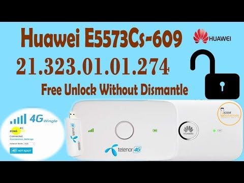 Huawei E5573Cs-609 21 323 01 01 274 Unlock Without Dismantle - Free