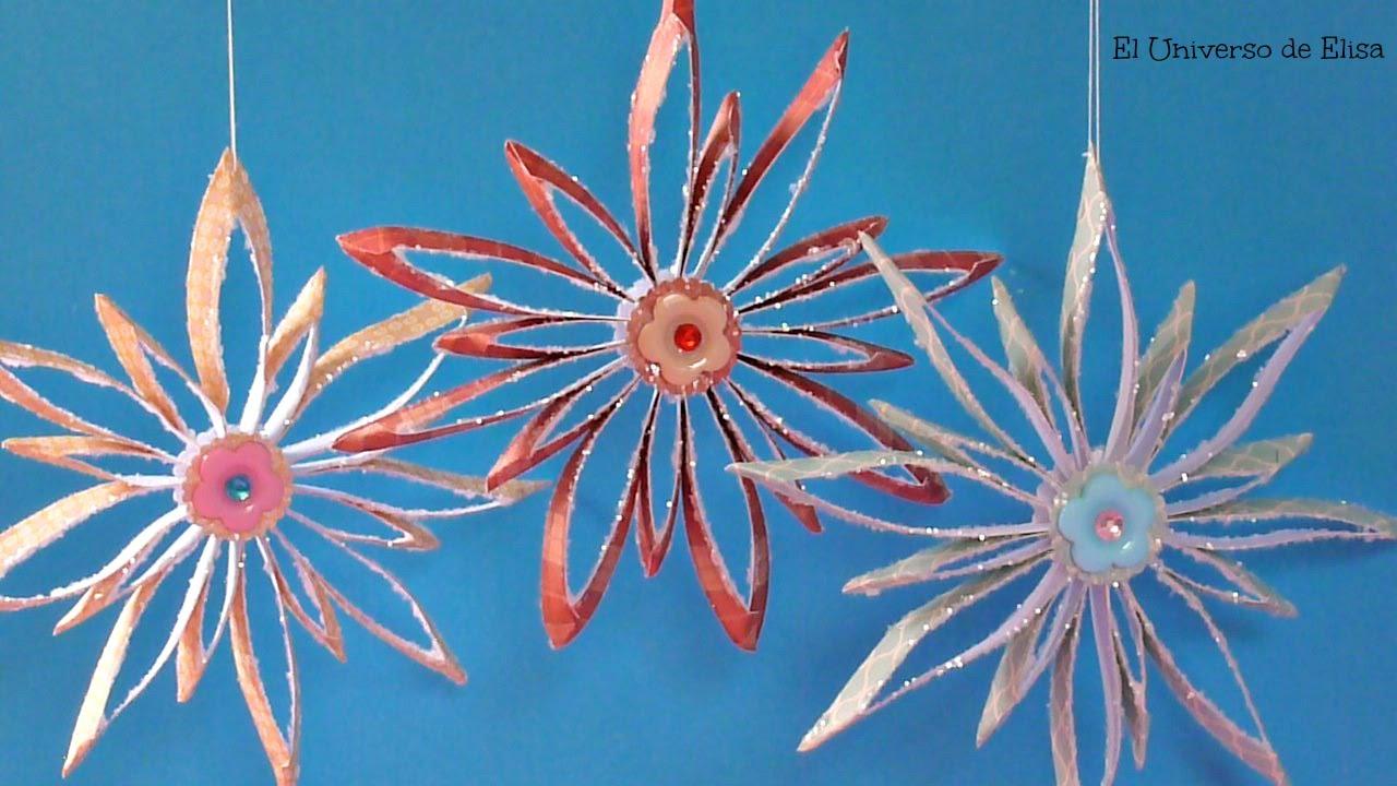 Decora tu casa esta navidad con estrellas de papel - Ideas para decorar estrellas de navidad ...