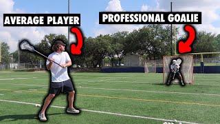 I Tried Scoring On a Pro Lacrosse Goalie... | PLL Redwoods Tim Troutner