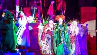 Mickey's Not So Scary Halloween Party 2015 Highlights Walt Disney World Hocus Pocus Show