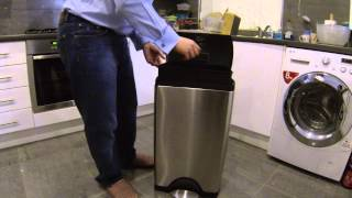 The Best Kitchen Bin Money Can Buy - Simplehuman 38l Rectangular Step Can