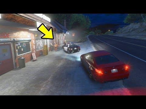 O que acontece se seguir a Policia do GTA 5?