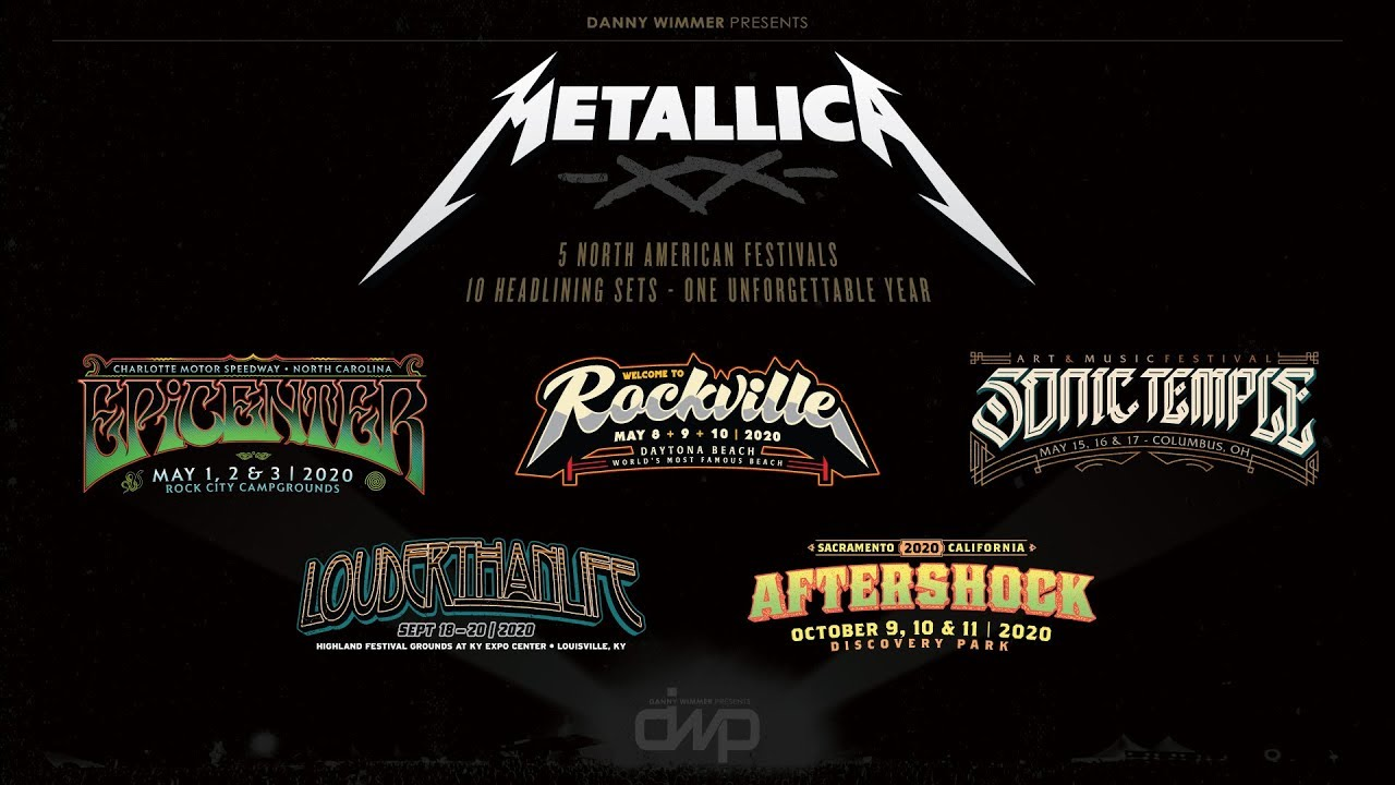 Metallica Tour 2020 Usa.Metallica 2020 U S Festival Press Conference At Metallica Hq