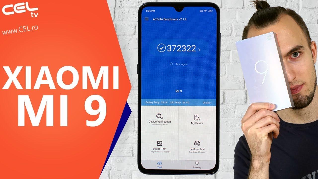 Xiaomi Mi 9   Un adevărat Flagship Killer   Unboxing & Review CEL.ro