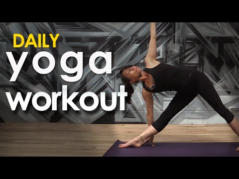 Daily Yoga Workout  ~ Calm is a Superpower