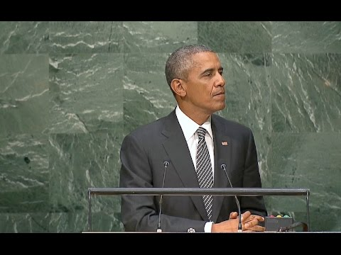 The President Speaks at the 2030 Agenda for Sustainable Development Goals