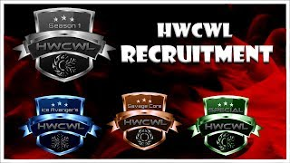 Heavy Weight Clan War League Season 1 | Recruitment video | Join the Hype Today!!!