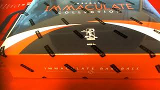 2018 Panini Immaculate Baseball Hobby Box Part 2 ID 18PANIMMBBNUM105