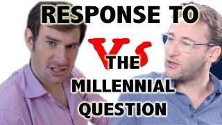 Response to Simon Sinek on the Millennial Question