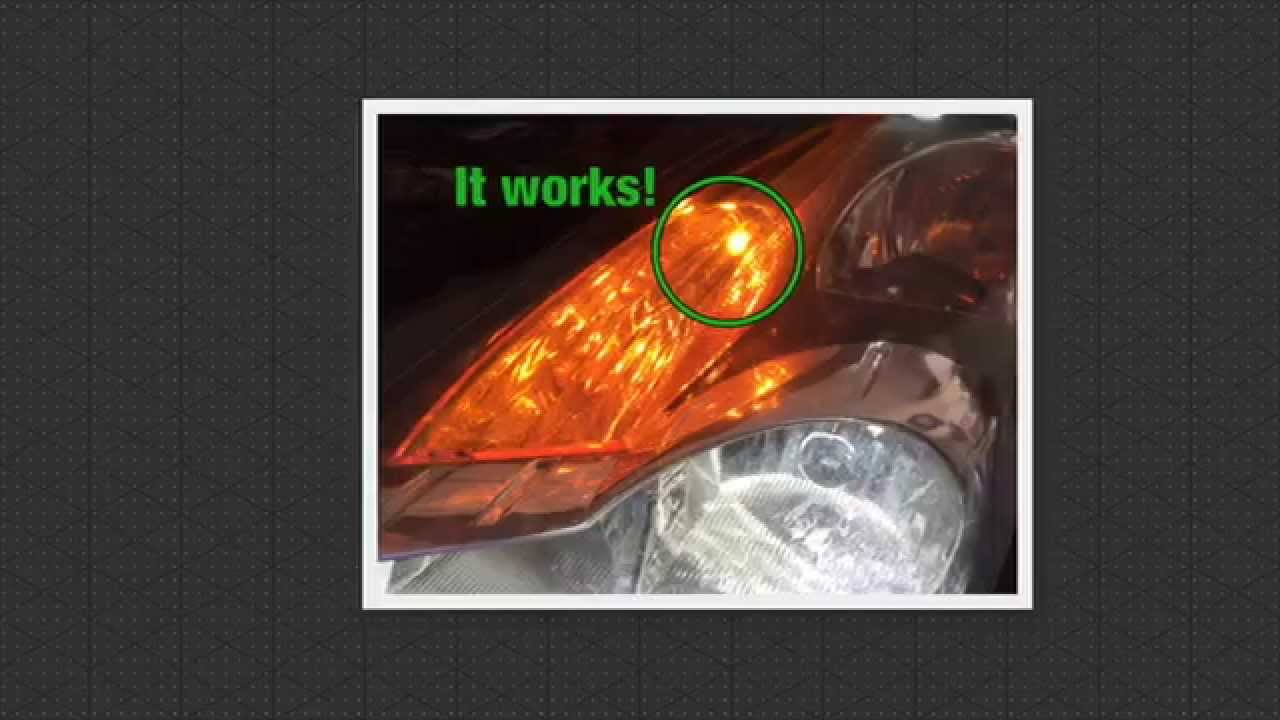 How To Change A Marker Lamp In A 2008 Nissan Altima Youtube