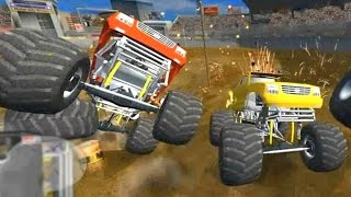 Дерби на БИГФУТАХ в игре FlatOut 2 'Most Wanted 2011' (1)